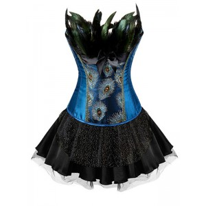 Corset with skirt NIMRES