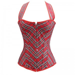 Scottish Red Corset