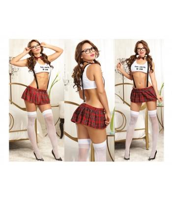 Disfraz de colegiala sexy