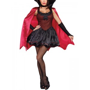 Disfraz vampiresa DIVIHEPA