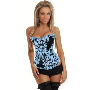 Precioso corset saten Flors