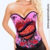 Corset bustier Heart on Fire