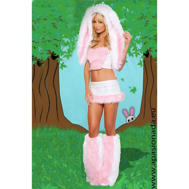 Disfraz de conejita sexy