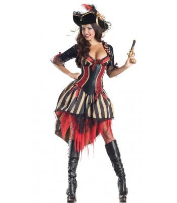 Disfraz pirata del caribe sexy