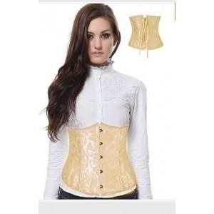 Brocade corset underbust Sex